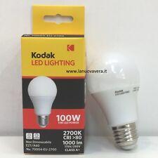 LAMPADINA LED KODAK A60 100W CALDA 70004-EU-2700 QUALITA' GARANTITA LOW COST!