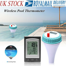 More details for wireless remote floating thermometer swimming pool water temperature spa hot tub
