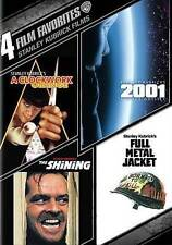 4 Film Favorites: Stanley Kubrick Films (DVD, 2015, 4-Disc Set)