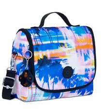 Kipling Kichirou  Insulated Lunch Bag Tote  Printed Prisms  Nwt