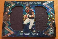 2016 Panini Spectra Rising Rookie Materials Neon Blue #6 Will Fuller #'d 36/99