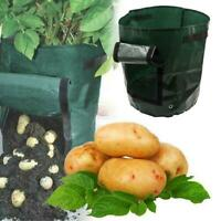 Potato Grow Planter PE Container Bag Pouch Root Plant Growing Cultivation New