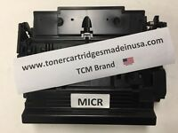 TCM USA HP CF287X MICR Micr OEM Alternative Toner Cartridge. Made in USA.