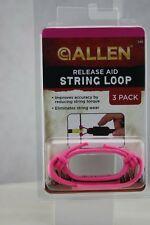 Allen Release Aid String Loop, Pink, 3 per pack
