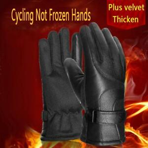 Outdoor Men Motorcycle Bike Full Finger Gloves Touch Screen Waterproof Keep Warm