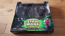 New Boxed Star Wars Sith Lords - Darth Vader & Darth Maul 12'' Power of the Jedi