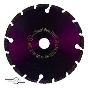 Diamantscheibe 75 mm MiniCut für Bosch Akku GWS 10,8-76 VEC Diamant Trennscheibe