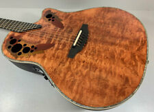 Ovation Elite Plus C2078AXP TE Tiger Eye Akustik Gitarre
