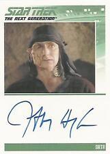 "Complete Star Trek TNG S2 - Jeffrey Hayenga ""Orta"" Autograph Card"
