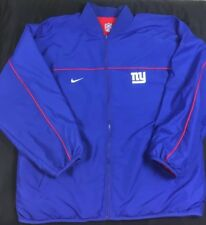 VTG Nike New York Giants NFL Reversible Jacket Men s SZ XL Full Zip  Sideline EUC a66da2445
