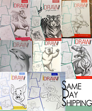 Learn to Draw creatures fantasy farm animals etc Choose Your Own!book by iDraw
