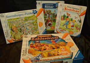 Tiptoi Buch Puzzle Zahleninsel Ritter Kinderlieder TOP