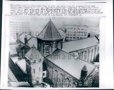 1959 Allegheny County Jail Pittsburgh PA Press Photo