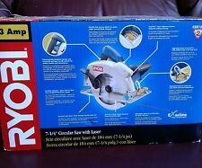 RYOBI 13-AMP LASER CIRCULAR SAW, 7-1/4 INCH CORDED NEW IN BOX
