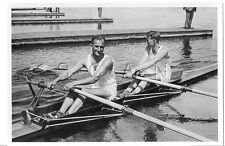WWII GERMAN- Large 1936 OLYMPIC Photo Image- Sports- Rowing- Double Sculls