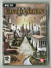 JEU PC / MAC ★ SIDMEIER'S CIVILIZATION IV (COMPLET) ★ 1 DISC 2K GAMES