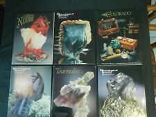 Mineralogical Record Magazine Vol 16 1985 all 6 Issues