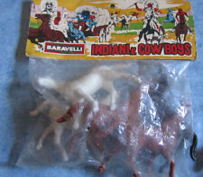 Baravelli Indiani e Cow Boys Set Cavalli Anni '70
