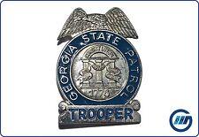 USA: Abzeichen Badge Metallabzeichen Trooper Georgia State Patrol (Replik) #38