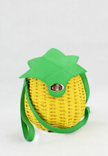 Pineapple Like Handmade Knitted Abaca Sling Bag