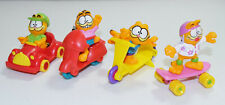 Vintage 1988/89 McDonalds Happy Meal Kids Toys Garfield Complete Lot of 4 Figure