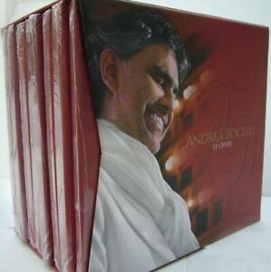 ANDREA BOCELLI LE OPERE  BOX 16 CD  SIGILLATI / SEALED