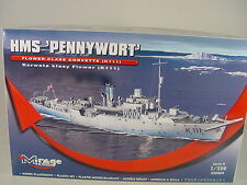 HMS Pennywort Corvette K 111   - Mirage Schiff  Bausatz 1:350  - 350804  #E