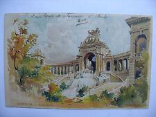 Carte postale, CPA, Lessieux, Authentique, Marseille, Longchamp.