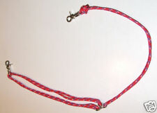 "Horse Tack Rope Tie Down adjustable to 50""-choose color"