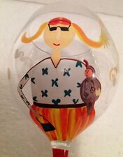 Di Paolo Roscher Hand Painted Wine Glass 10 Day Diet Funny