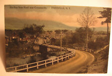 1910 Era The Foss State Road Near Comminsville, Dansville, N.Y. Postcard