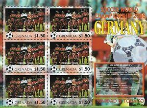 """GRENADA - 2006 MNH """"FIFA Soccer World Cup - SAUDI ARABIA"""" S/S (32/32)  !!"""