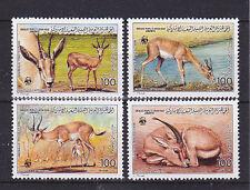 v1882 Libyen / WWF 1987 Gazellen  MiNr 1753/56 **