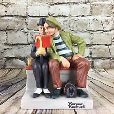 The Danbury Mint Norman Rockwell The Interloper 1980 Hand Crafted Figurine