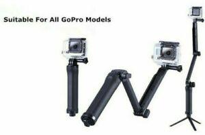 3in1 Selfie Stick Tripod Foldable Handheld Monopod Holder for GoPro Hero 76 5 4