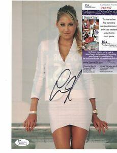 "Anna Kournikova Tennis Sexy Signed 7 3/4"" x 10 1/2"" MAG Page JSA Certified"