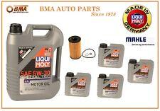 BMW X5 X6 Alpina B7L 760Li 750Li 650i 550i Engine Oil Change Kit 5W-30 New