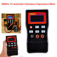 MLC500 500Khz Automatic Capacitance Inductance Tester High Precision 1% Accuracy