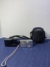 Sony Cyber-Shot DSC-S980 12.1MP Digital Camera, Flash Card, Charger, & Case