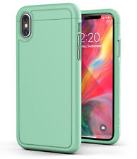 iPhone XS Max Slim Case Ultra Thin Protective Grip Cover (Slimshield) Mint Green