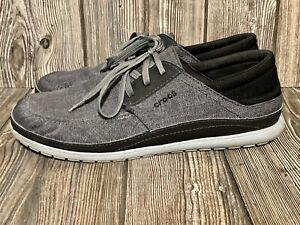 Crocs Santa Cruz Playa Men's Boat Shoes - Size 11