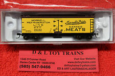 50002680 Morrell Refrigerator Line 40' Wood Side Reefer Car NEW IN BOX