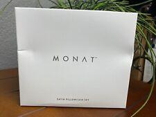 MONAT Satin PillowCase Set - BRAND NEW