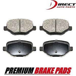 Rear Brake Pads For Ford Edge Explorer Flex Taurus Lincoln MKS MKT MKX