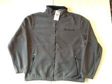 Snap-On Tools Zip Up Fleece Coat - XL Extra Large - Grey w/Black Trim