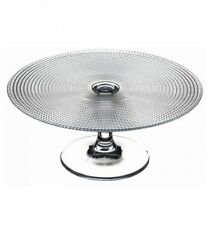 Pasabahce Glass Pedestal Cake Stand Serving Plate Dish Gift Boxed Party Wedding