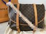 100% Authentic Louis Vuitton Monogram Saumur 43 Cross Body Shoulder Bag M42252