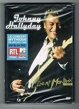 ♬ - JOHNNY HALLYDAY - LIVE AT MONTREUX 1988 - DVD NEUF NEW NEU - ♬