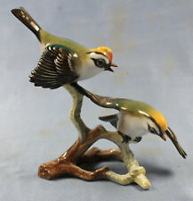 Wintergoldhähnchen paar Vogel porzellanfigur porzellan figur Rosenthal vögel