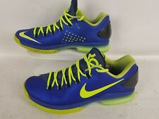 Nike Kevin Durant Zoom KD Walking/ Running Shoe Blue Green Size 10.5US